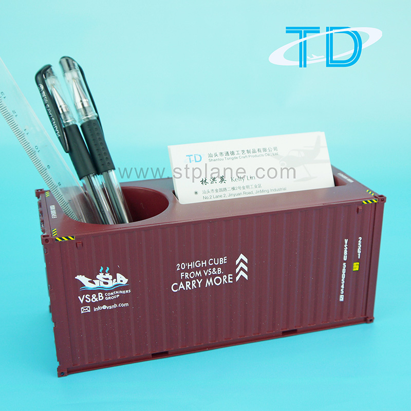 Container pen holde
